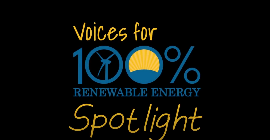 Voices for 100% Spotlight